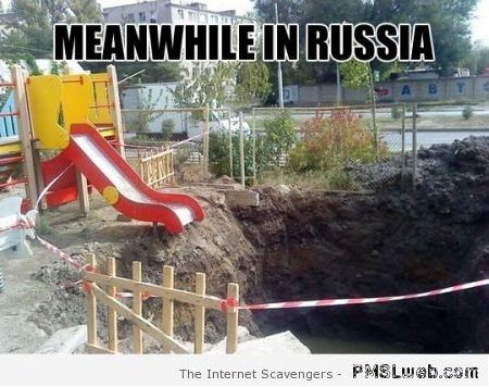 Funny playground in Russia – Funny Russia at PMSLweb.com
