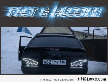Fast and Russian humor at PMSLweb.com