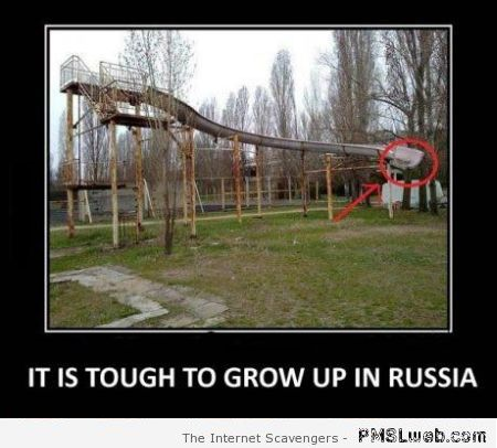Russian playground fail – Funny Russia at PMSLweb.com