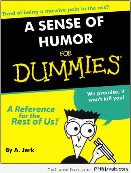 A sense of humor for dummies at PMSLweb.com