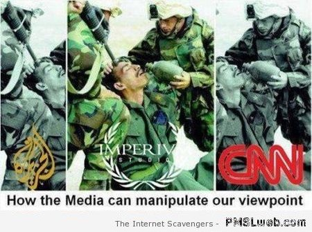 How the media can manipulate our view point at PMSLweb.com