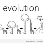 Funny giraffe evolution at PMSLweb.com