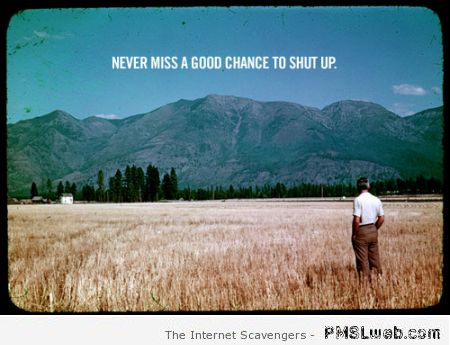 Sarcastic inspirational picture at PMSLweb.com