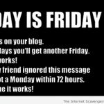 Today is Friday humor at PMSLweb.com