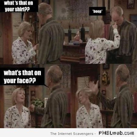 Funny 3rd rock from the sun bitchslap at PMSLweb.com