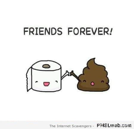 Friends forever humor at PMSLweb.com