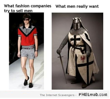 Funny fashion what men really want