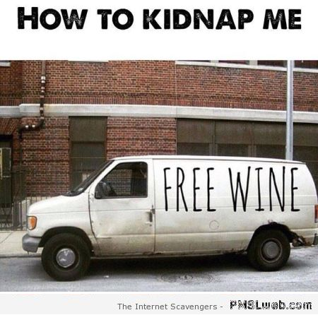 Funny how to kidnap me