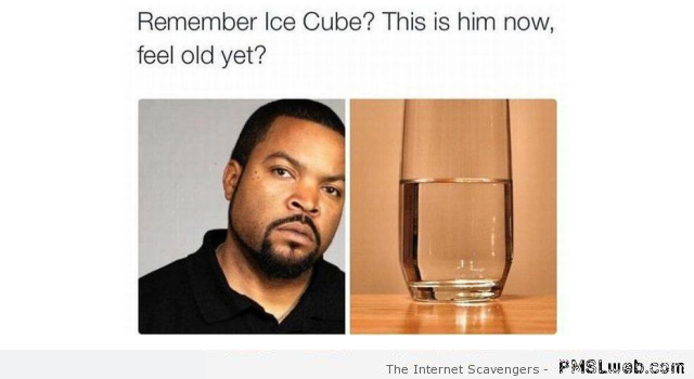Funny Ice cube then and now