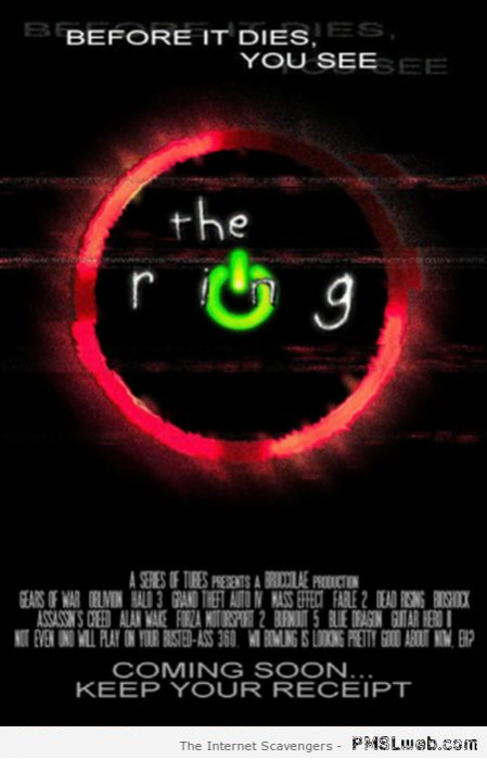 Funny Xbox the ring