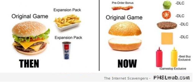 Games then versus now humor at PMSLweb.com