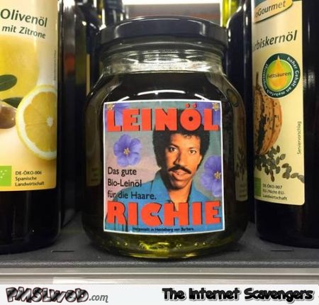 Funny German Lionel Richie oil – Funny Germany at PMSLweb.com