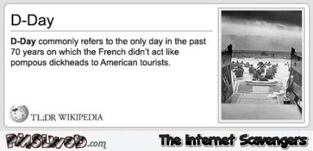 Funny D-day definition at PMSLweb.com