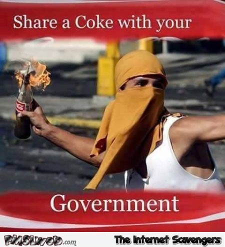 Share a coke with your government humor at PMSLweb.com