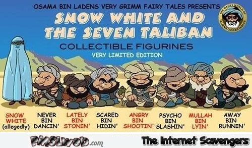 Funny Snow white and the seven Taliban's – Funny pictures at PMSLweb.com