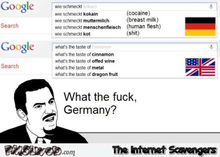 WTF Germany funny google search at PMSLweb.com