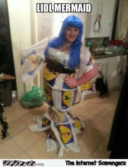 Lidl mermaid meme at PMSLweb.com