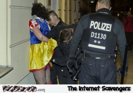 Snow white gets arrested @PMSLweb.com