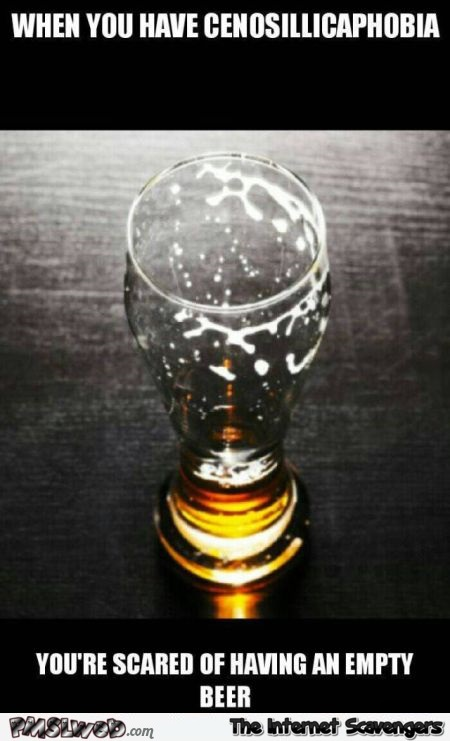 Cenosillicaphobia definition – Silly pictures @PMSLweb.com