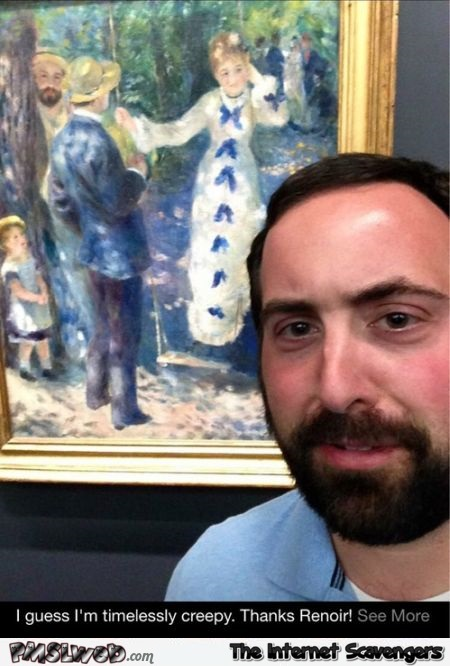 Funny Renoir painting look alike