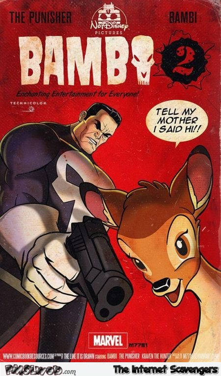 Funny bambi the punisher @PMSLweb.com