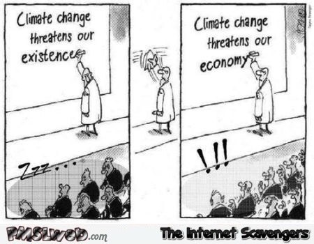 Funny climate change cartoon @PMSLweb.com