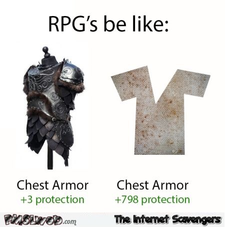 RPG's be like