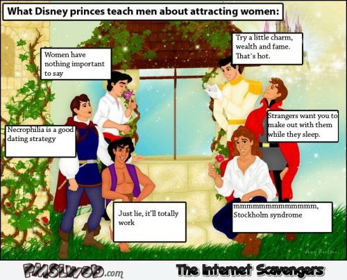 What Disney princes teach men humor