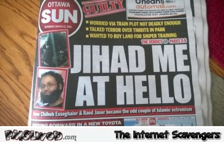 Jihad me at hello news @PMSLweb.com
