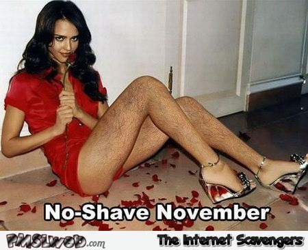 No shave November humor – Nutcase Tuesday @PMSLweb.com