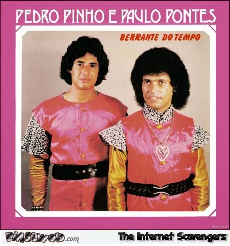 Berrante do tempo funny album cover @PMSLweb.com