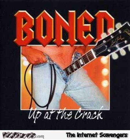 Boned WTF album cover @PMSLweb.com