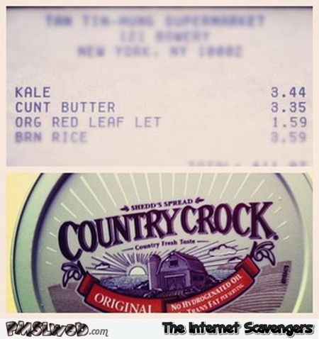 Country crock butter fail @PMSLweb.com