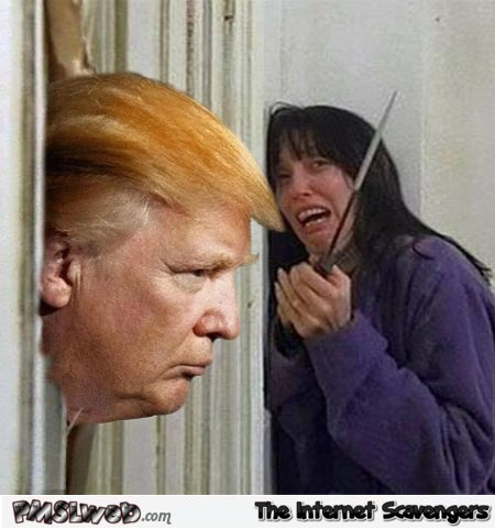 Donald Trump in the Shining – Funny Friday pics @PMSLweb.com