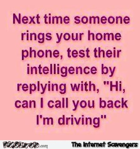 Next time someone rings your home phone prank @PMSLweb.com