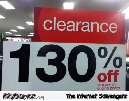 Shop clearance fail @PMSLweb.com