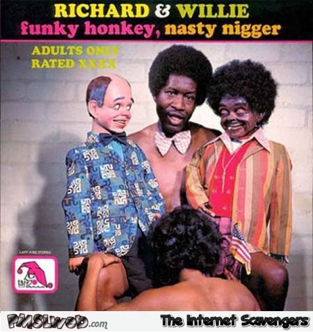 Richard and Willie WTF album cover – Funny album covers @PMSLweb.com