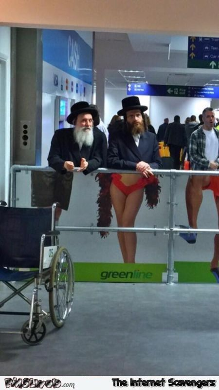 Funny rabbis at the airport @PMSLweb.com