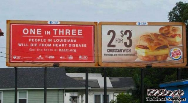Hilarious billboard placement fail – Monday fun @PMSLweb.com