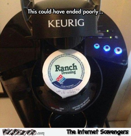 Funny coffee machine fail – Monday PMSL @PMSLweb.com