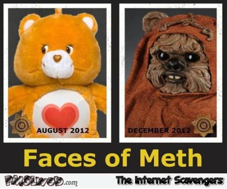 Care bear on meth humor @PMSLweb.com
