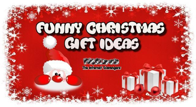 Funny Christmas gift ideas – When Santa loses it | PMSLweb