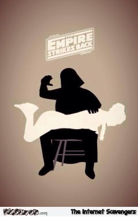 The Empire strikes back funny picture @PMSLweb.com