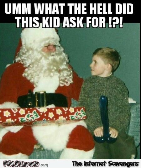 What did this kid ask for at Christmas humor @PMSLweb.com