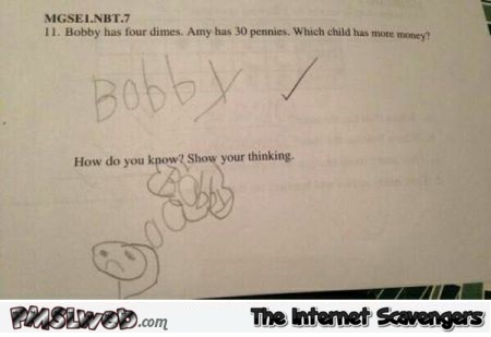Funny test answer – Hilarious Saturday @PMSLweb.com