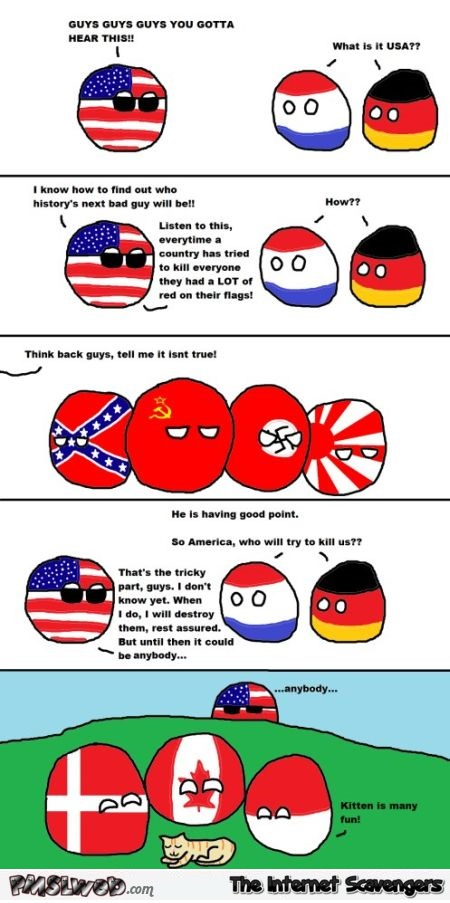 Funny Polandball America and the next enemy @PMSLweb.com