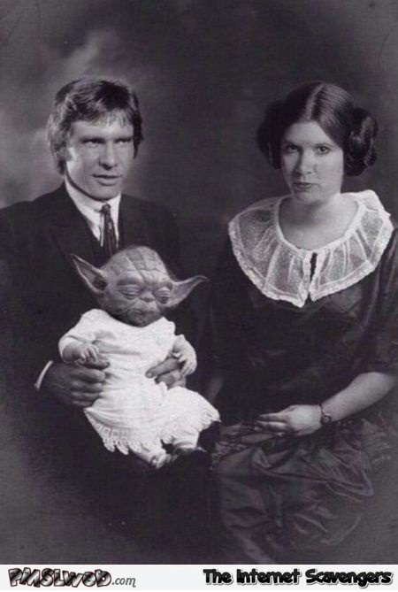 Funny fake vintage Star Wars photo @PMSLweb.com