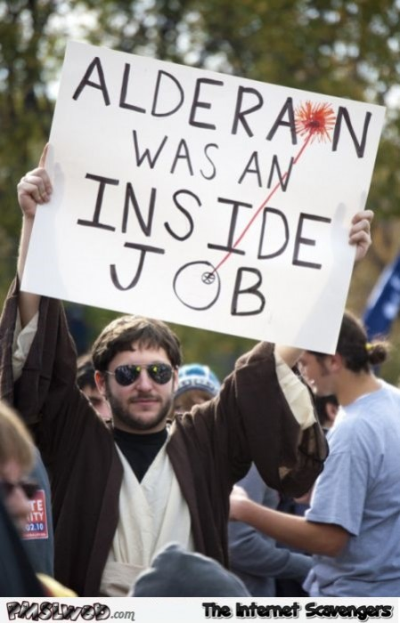 Alderaan was an inside job