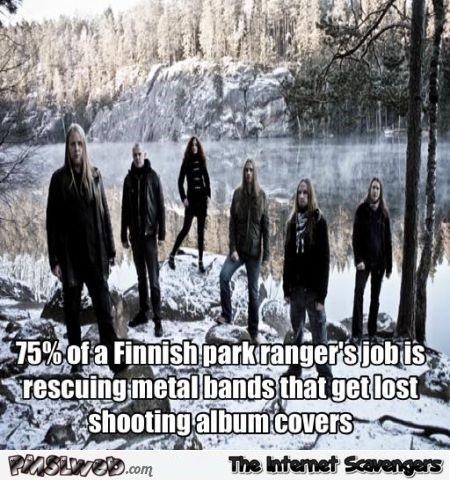 Finnish metal band humor – Wednesday lolz @PMSLweb.com