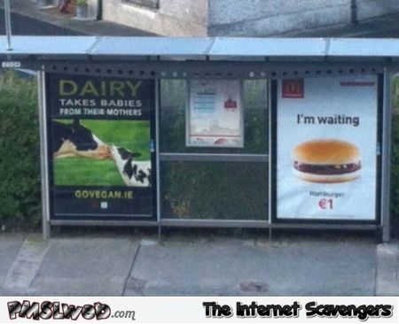 Awkward McDonalds adverting placement @PMSLweb.com
